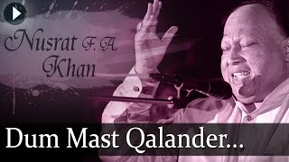 Duma Dum Mast Qalander - Nusrat Fateh Ali Khan   - YouTube