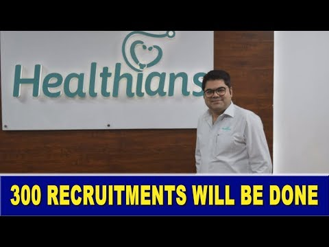 Recruitment Of 300 People Will Be Done By Healthians II Largest Diagnostic Lab II Blood Test Lab