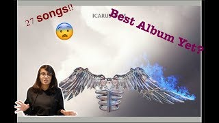 Reacting to entire album ICARUS FALLS by Zayn Malik!!