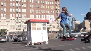 Смотреть онлайн Летающий скейтборд без колес