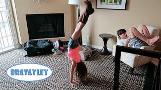 Hayley's Hotel Handstands (WK 237.7) | Bratayley