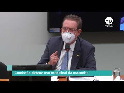 Comissão debate o uso medicinal da maconha - 11/05/21