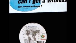 Ann Nesby - Can I Get A Witness (Mousse T's Downbeat Mix)
