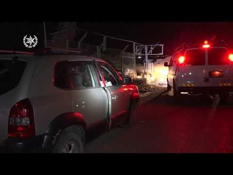 פיגוע במחסום קלנדיה: חייל נדרס • תיעוד מהזירה