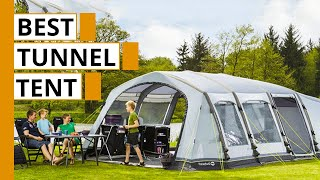 Top 5 Best Tunnel Tents for Family Camping & Outdoors
