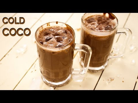 Cold Coco Recipe – Surti Chocolate / Cocoa Milk Shake – CookingShooking