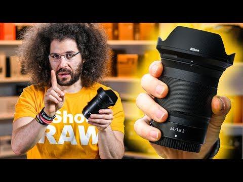 External Review Video A5-ixUg3c5I for Nikon NIKKOR Z 24mm F/1.8 S Lens