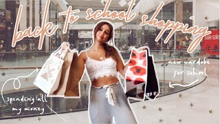 Back To School Clothing Shopping Vlog 2020