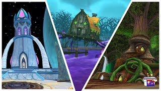 Wizard101: THE HALLOWEEN VILLAGE! & Other Spooky Houses