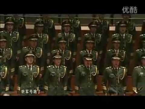 "Soviet march ""Let's go"" ( ""В путь"" 《出发》 ) - chinese version"