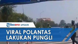 Viral Video Oknum Polantas Diduga Lakukan Pungli di Tol, Polisi: Sudah Ditindak, Diperiksa Propam