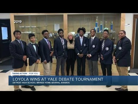 Loyola High School Debate Team Shines at Yale Tournament