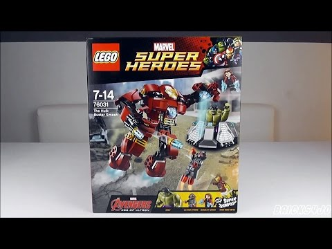 LEGO 76031 Marvel Super Heroes Hulkbuster Rettungsmission - Review deutsch -
