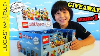 LEGO Minifigures Simpsons Series 1 Complete Set + GIVEAWAY from Lucas World