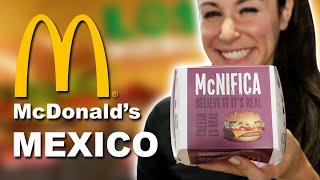 TOP 16 Things to TRY at McDonald's in Mexico 🇲🇽