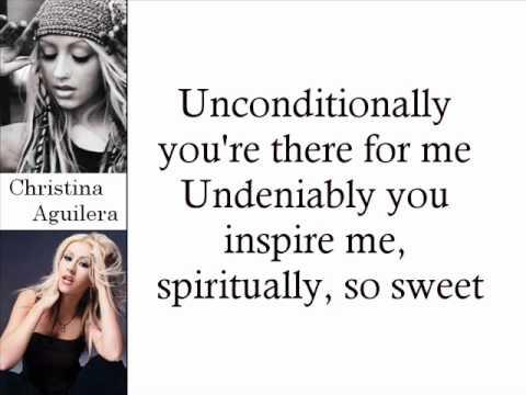 Christina Aguilera - Loving Me 4 Me (Lyrics On Screen)