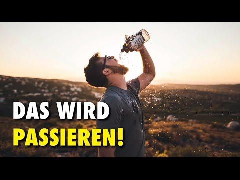 Es ist schnell, abzumagern, das Wasser zu trinken