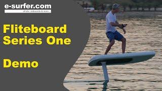 Fliteboard electric foil