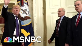 Former WH Chief Of Staff Andy Card: 'It's Between The President And John Kelly' | MTP Daily | MSNBC thumbnail