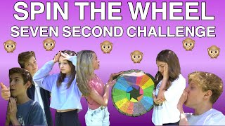 SPIN the MYSTERY WHEEL 7 SECOND CHALLENGE ft. THE SQUAD  **INTENSE**