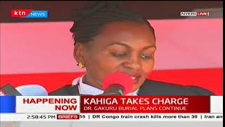 Swearing-in Ceremony of Mutahi Kaiga as the new governor of Nyeri County