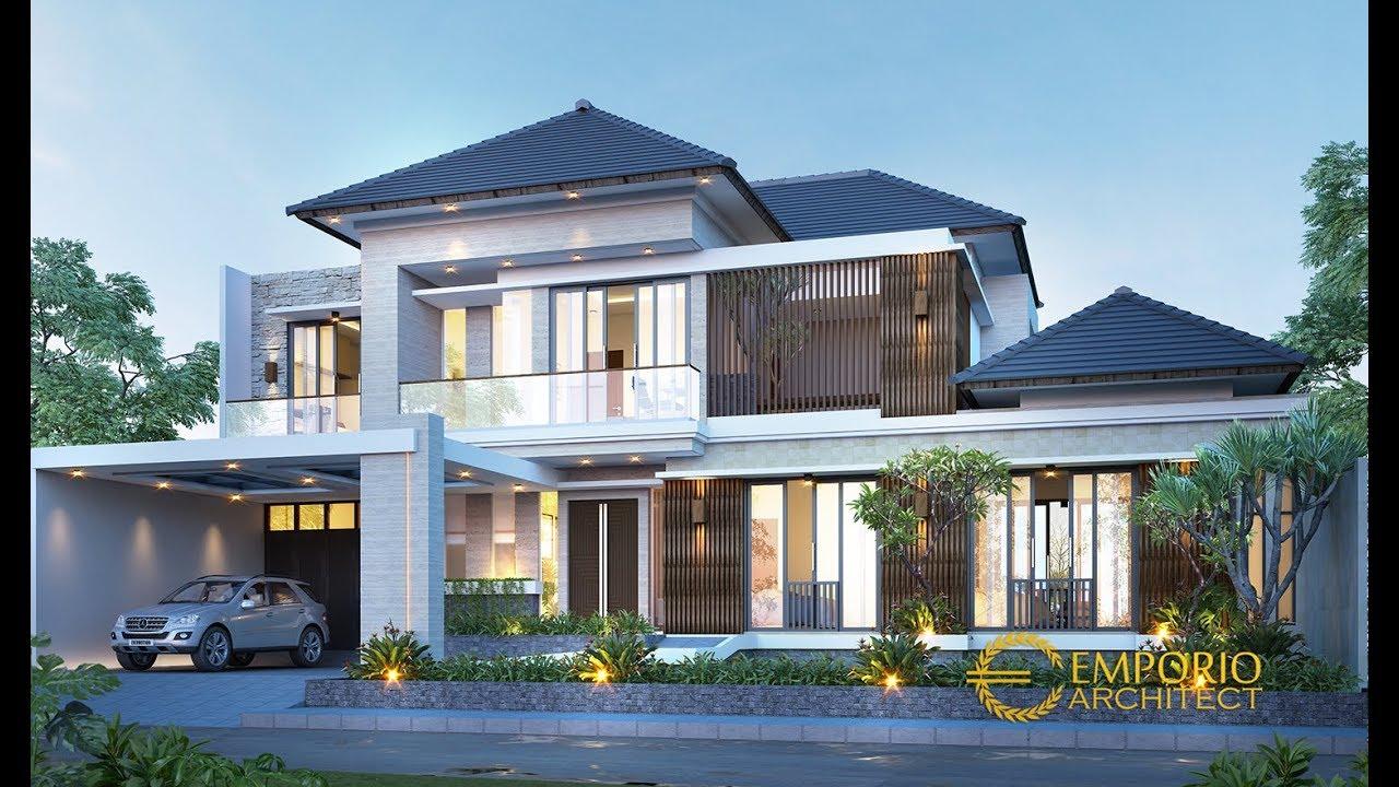 Video 3D Desain Rumah Modern 2 Lantai Bapak Indra di Jakarta Selatan