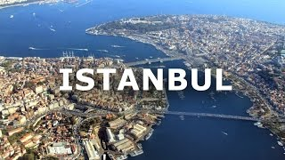 Flying over Istanbul