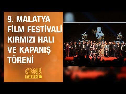 9. Malatya Film Festivali Kırmızı Halı ve Kapanış Töreni - CNN TÜRK 19.11.2019 Salı