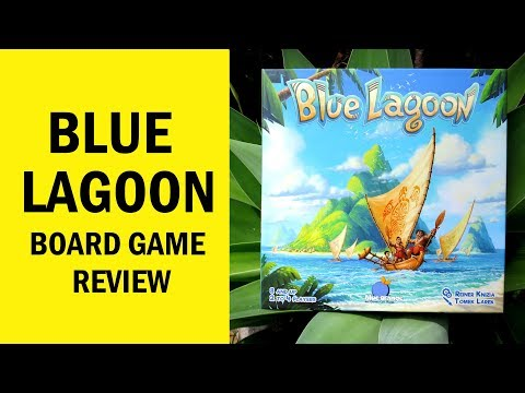 Blue Lagoon Board Game Review & Runthrough: You're Welcome!