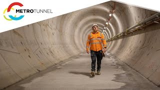 Tunnelling is now complete on the Metro Tunnel Project