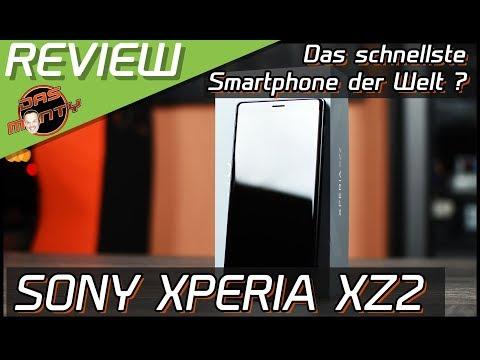 Sony Xperia XZ2 Smartphone Test-Review des vielleicht schnellsten Handy der Welt | DasMonty