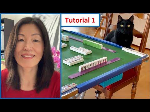How to play Mahjong? Classic Mahjong for Beginners! Lesson 1 (Deutsch mit English Untertitel)