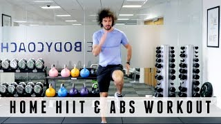 20 Minute Home HIIT & Abs Workout | The Body Coach by The Body Coach TV