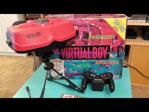Nintendo Virtual Boy Retrospective + Gameplay