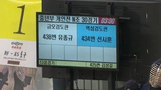 2019 한국사회인검도대회 중년부 개인전 역삼검도관 선시훈 VS 금오검도관 유종규