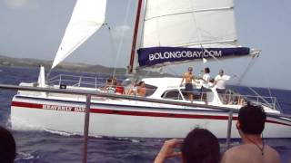 preview picture of video 'Catamaran ride in St Thomas, USVI'