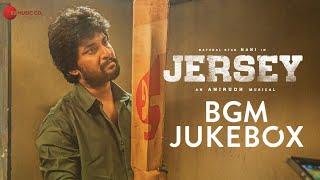 Jersey - BGM | Audio Jukebox | Nani & Shraddha Srinath | Anirudh Ravichander