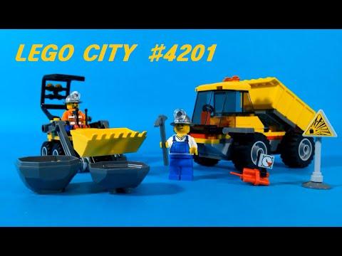 Vidéo LEGO City 4201 : Le camion-benne