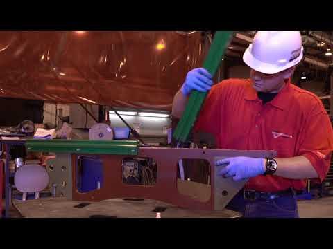 Nautilus plate poly rail installation