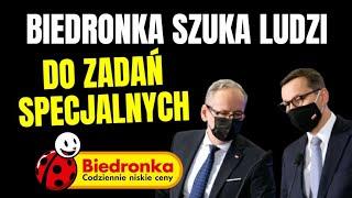 Biedronka szykuje się na najgorsze… Pilnie szuka pracowników na 4 falę..