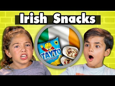KIDS EAT IRISH SNACKS | Kids Vs. Food