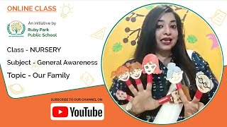 Learn about Our Family | General Awareness for Nursery | Ruby Park Public School Thumbnail