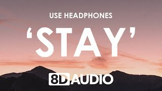 David Guetta   Stay (Don't Go Away) (8D AUDIO) 🎧 Feat. Raye