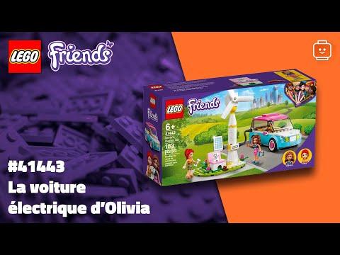 Vidéo LEGO Friends 41443 : La voiture électrique d'Olivia