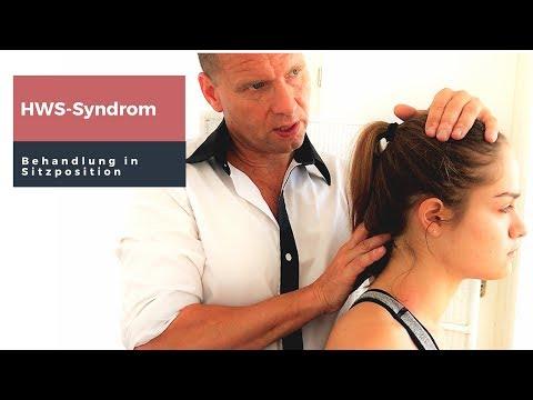 HWS-Syndrom - Behandlungsfinessen in Sitzposition
