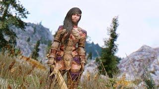 Skyrim mods Dwarven Bikini Armor and Atmoran Axe