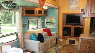 Full Time RV Family of Six Camper Renovation - No Muck E01