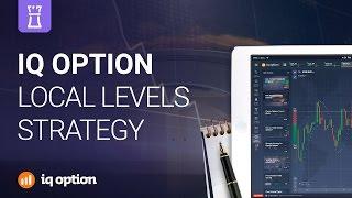 Local Levels trading strategy. IQ Option