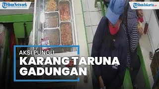Viral Video Aksi Pungli Karang Taruna Gadungan di Warteg Wilayah Ciputat Timur yang Terekam CCTV