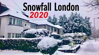Storm Ciara Bring Snow To England | Snowfall In UK 2020